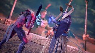 SOULCALIBUR 6 - Azwell Boss Fight & EPIC Cutscene (Libra of Soul Story) PS4 Pro