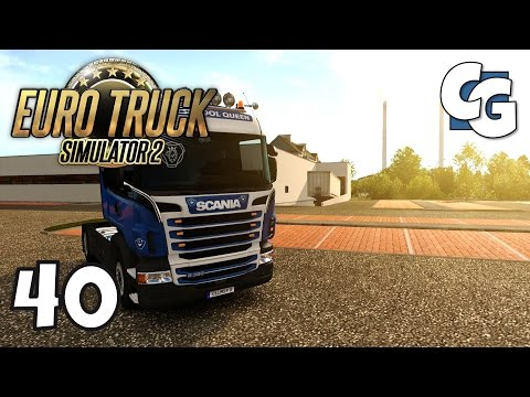 Euro Truck Simulator 2 - Ep. 40 - Delivering to Ulm - ETS2 ProMods 2.1 Gameplay