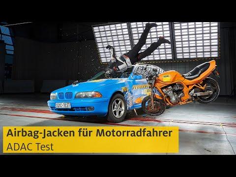 Airbag-Jacken für Motorradfahrer