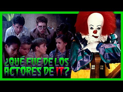 QUE FUE de los ACTORES ORIGINALES de IT ESO - ANTES Y DESPUES  - STEPHEN KING