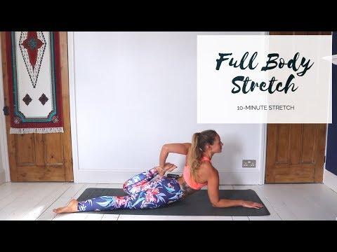 FULL BODY STRETCH  10Minute Yoga  CAT MEFFAN
