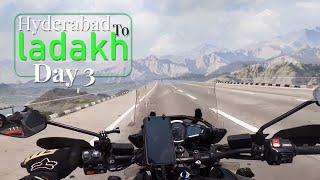 Hyderabad To Ladakh | Day 3| Sandeep Nadimpalli | Telugu |