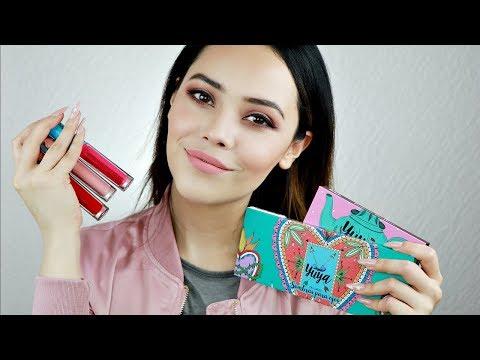 Maquilaje de Yuya, tutorial y swatches ||| Lilia Cortés