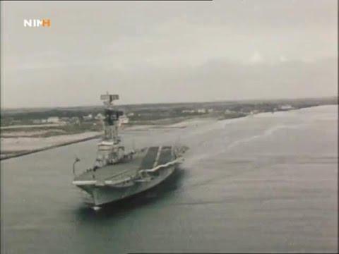 Holanda entrega el portaaviones ARA 25 de Mayo (1968)