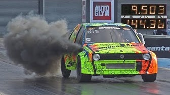 AM Motorsport VW Polo PD130 with NITROUS - 9.50 at 144 mph