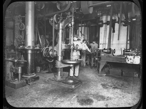 OLD STEAM POWERED MACHINE SHOP 37  Gone South