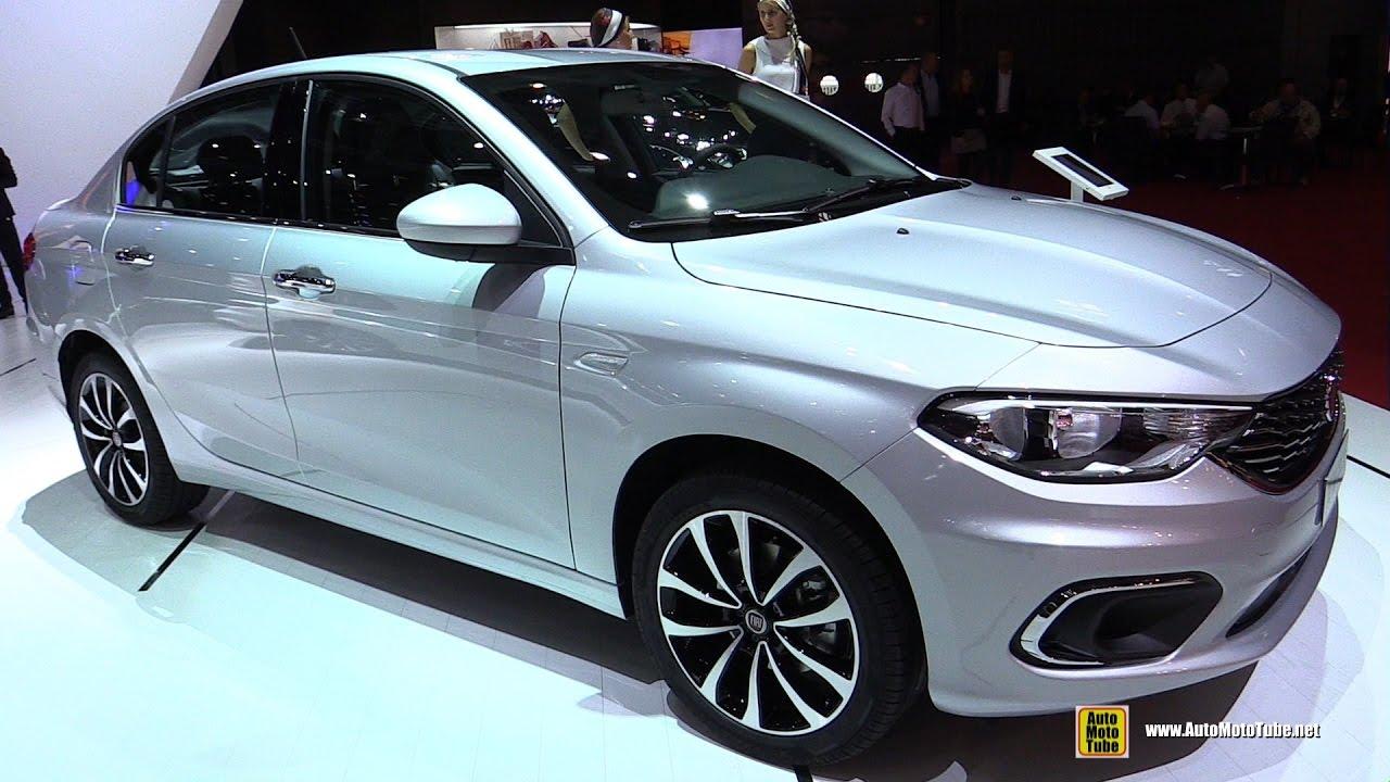 2017 Fiat Tipo 4 Door 1 6 Sel Exterior And Interior Walkaround 2016 Paris Motor Show You