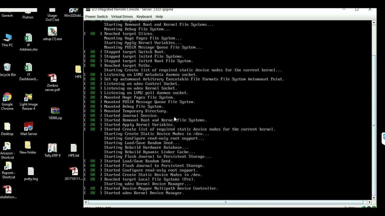 Installing CentOS 7 on HPE DL60 with B140i Smart Array Controller with Raid1