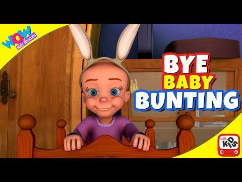 Bye Baby Bunting | Vir The Robot Boy I Wow Kidz Rhymes
