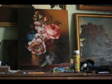 """Цветы в корзине """"Still Life With Flowers"""" Часть 2."""