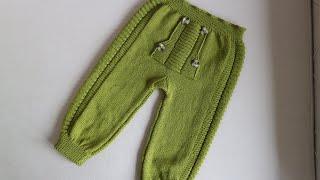 Erkek çocuk pantolonu 2.bölüm
