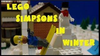 Lego® Simpsons™ in winter by Magic_Bricks