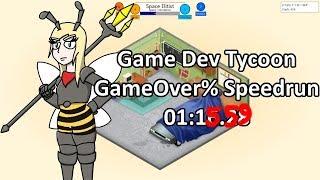 Fwr  Game Dev Tycoon Gameover% Speedrun  01:15.59  | Themadwasp