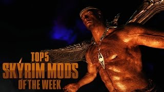 Bling Dragon Wings - Top 5 Skyrim Mods Of The Week