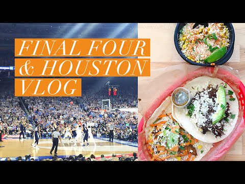 Final Four in Houston! // Travel Vlog