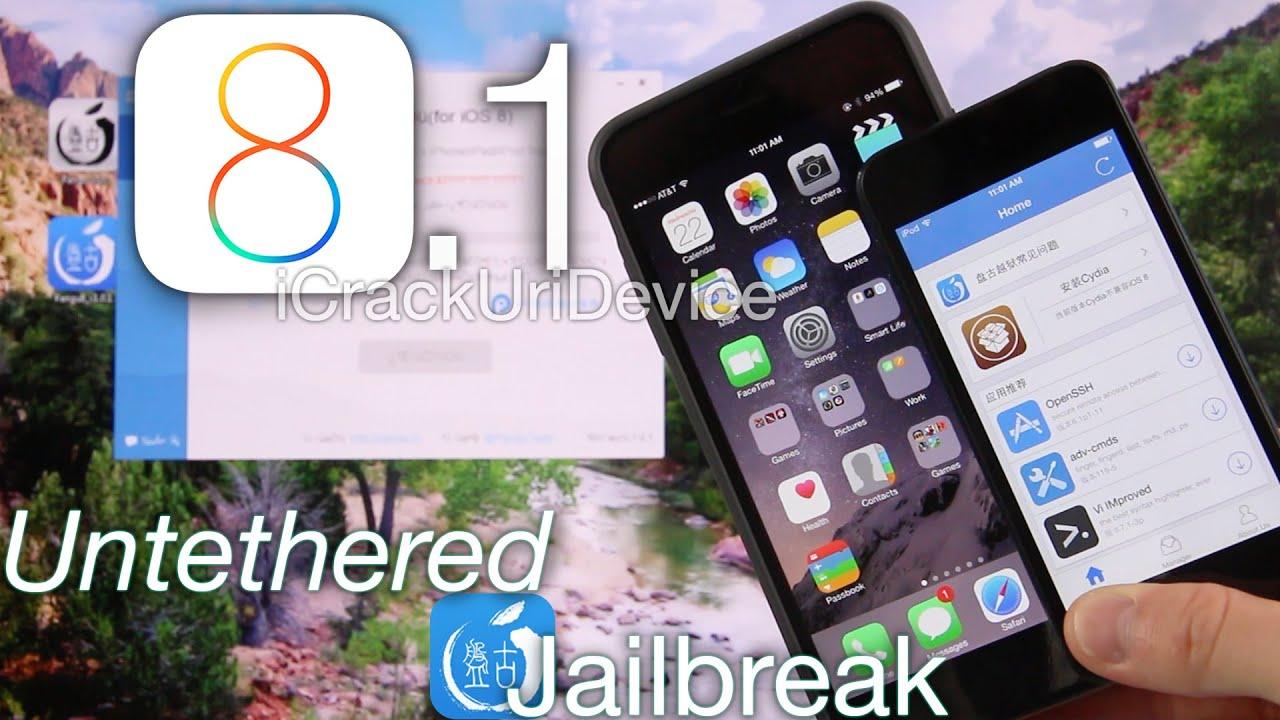 NEW Jailbreak 8.1 Untethered Pangu iOS 8.1 iPhone 6 Plus ...