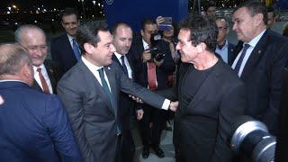 Moreno asiste al acto de entrega de los Premios Malagueños del Año