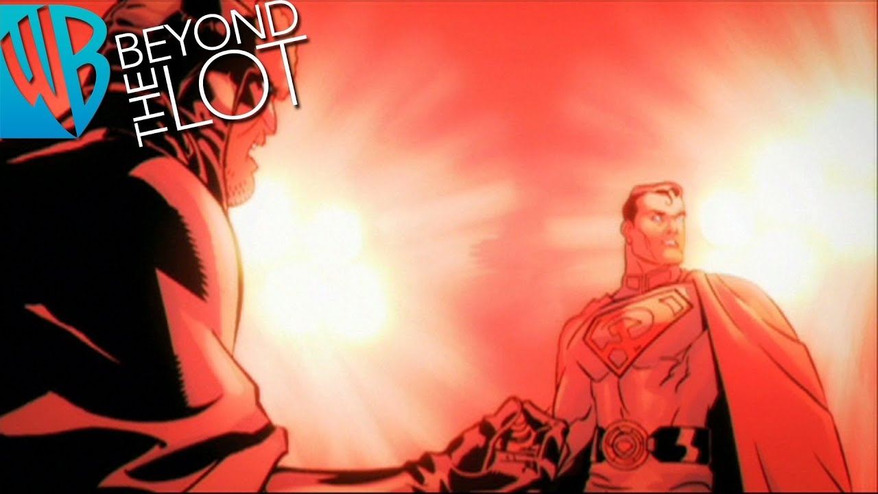 Superman Red Son Motion Comics Ep 16 Superman Vs Batman Youtube