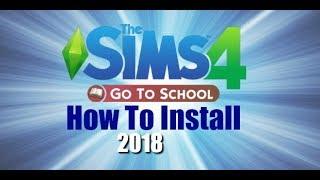 How To Install The Go To School Mod Sims 4 Zerbu misplacedmoo
