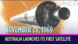 OTD in Space - Nov. 29: Australia Launches Its 1st Satellite