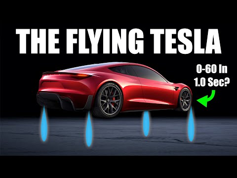 How The Tesla Roadster Rockets Work - 0-60 In One Second?!