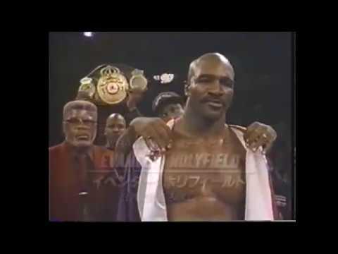 WBA・IBF世界ヘビー級王座統一戦 イベンダーホリフィールドVSマイケルモーラー