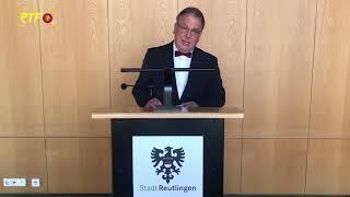 Oberbürgermeister Thomas Keck wendet sich an Bürger