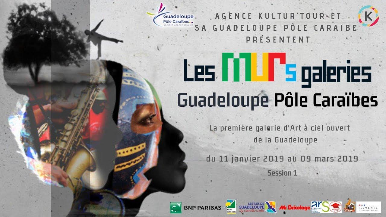 Les murs galeries, Guadeloupe pôle caraïbes