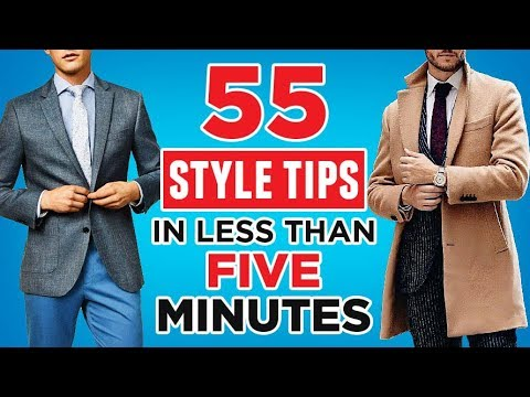 55 Fashion HACKS In LESS Than 5 Minutes! | RMRS Men's Style Videos