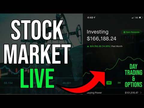 TRADING THE OPEN!  - Live Trading, DOW & S&P, Stock Picks, Day Trading & STOCK NEWS