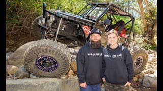 Insane rock crawling Zook! • Married couple wheeling together