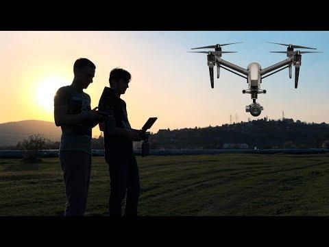 Magyar drónpilóta Hollywoodban? Bizony!
