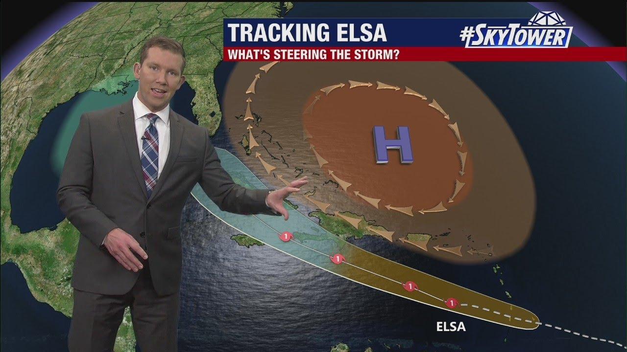 South Florida under tornado watch as Tropical Storm Elsa moves ...