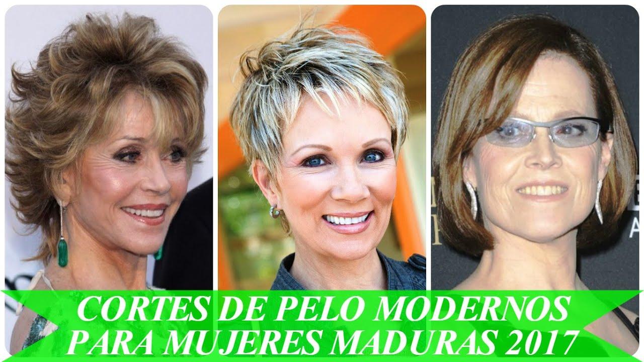 cortes de pelo modernos para mujeres maduras