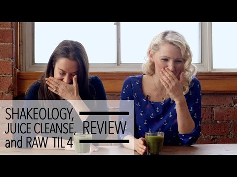Shakeology Juice Cleanse Raw till 4 Diets Reviewed by 2 Dietitians
