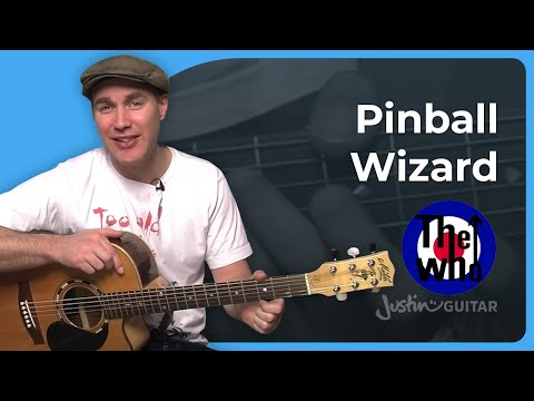 How to play Pinball Wizard by The Who (Guitar Lesson SB-420)