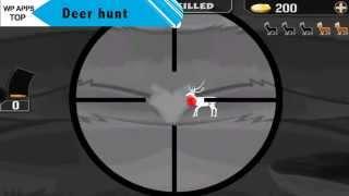 Deer Hunt Angry Shooting 3D - WindowsPhone Gameplay
