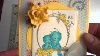 Spring Cards Using Whimsy Stamps 2012