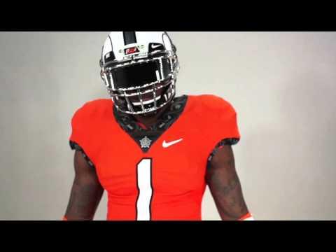 EVOLVE: The New Oklahoma State Football Uniform
