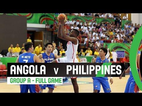 Angola v Philippines - Group A Full Game - 2014 FIBA U17 World Championship