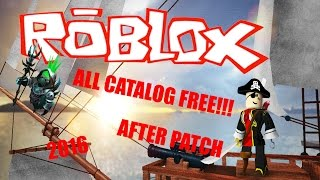 ROBLOX ALL CATALOG FREE!!! (WORKING) (JANUARY) (2018) (HD)