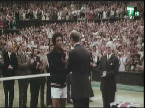 Arthur Ashe The Genius Upsets World #1 Jimmy Connors 1975