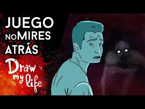 Así se INVOCA en el TERRIBLE juego de NO MIRES ATRÁS - Draw My Life en Español