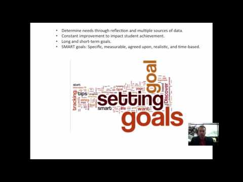 Weekly 5 #34 – T-TESS Dimension 4.2: Goal Setting