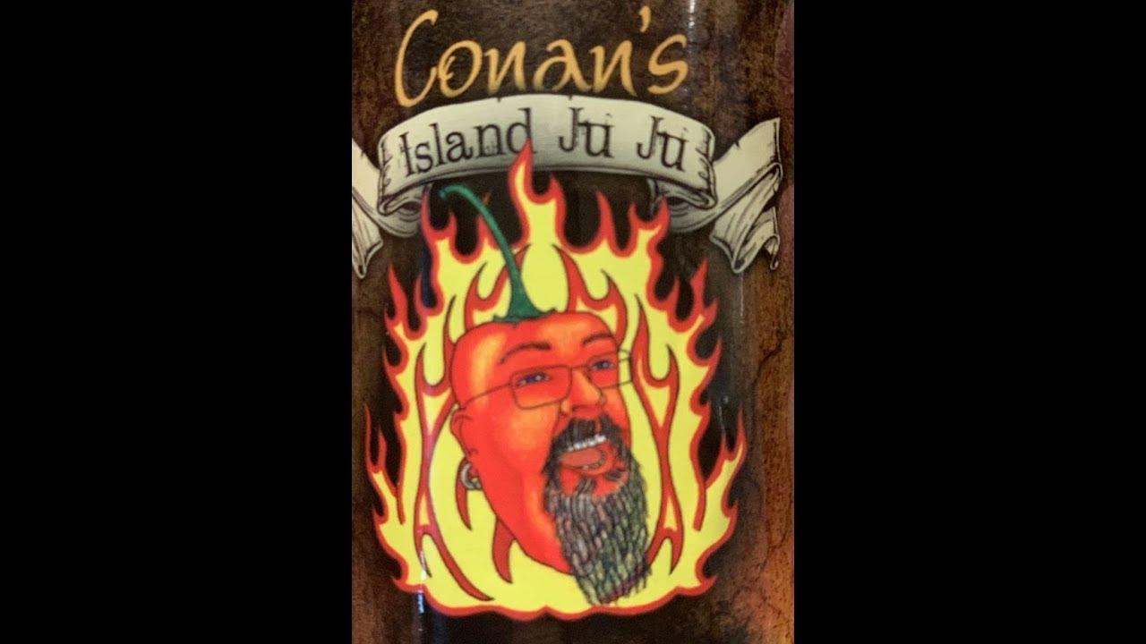 Conan's Island Ju Ju Hot Sauce