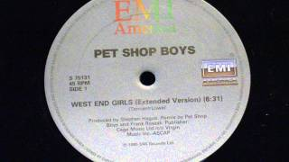 West end girls (extended version) - Pet shop boys