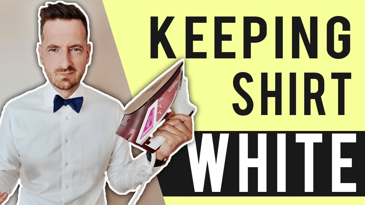 How To Keep Your White Shirt Looking White 2017 Cleaning Tutorial