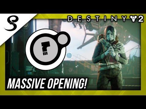 MASSIVE DEAD ORBIT PACKAGE OPENING! (200+ Tokens!) | Destiny 2 Faction Rallies