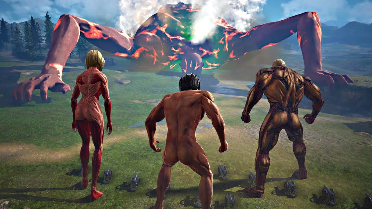 ไททันร็อดเรสส์ vs ไททันสุดแกร่ง : Attack on Titan 2: Final Battle