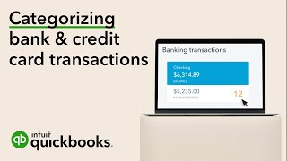 How to Categorize Transactions From Your Bank & Credit Card   QuickBooks Online 2019 Tutorial
